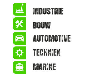 Industrie, Bouw, Automotive, Techniek, Marine